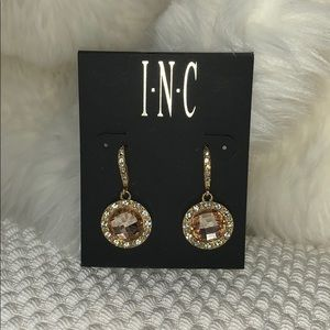 INC International Concepts Jewelry - INC Gold Rinestone Earrings